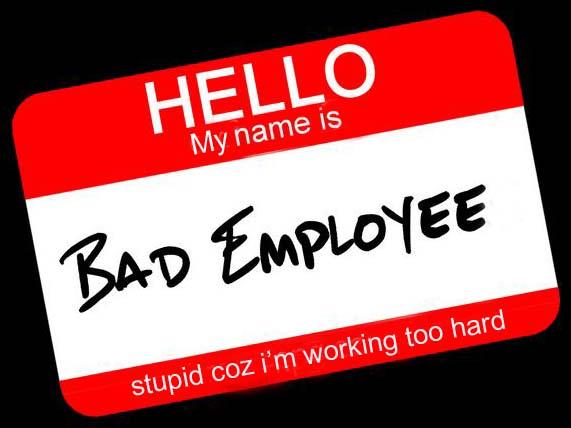 bad employee